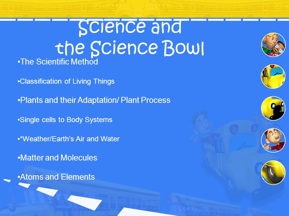 Science and the Science Bowl