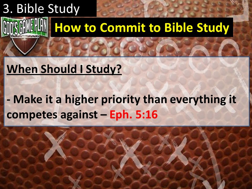 How to Commit to Bible Study