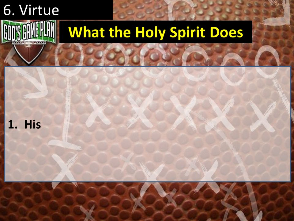 What the Holy Spirit Does