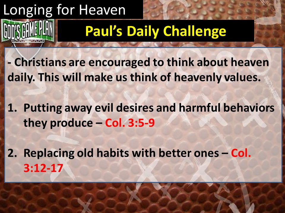 Paul's Daily Challenge