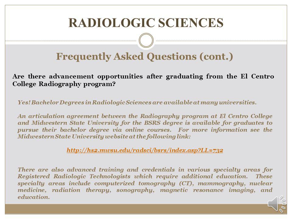 Radiologic Sciences Information Session Ppt Download