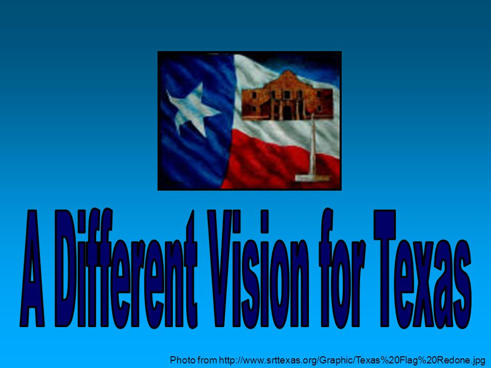 A Different Vision for Texas