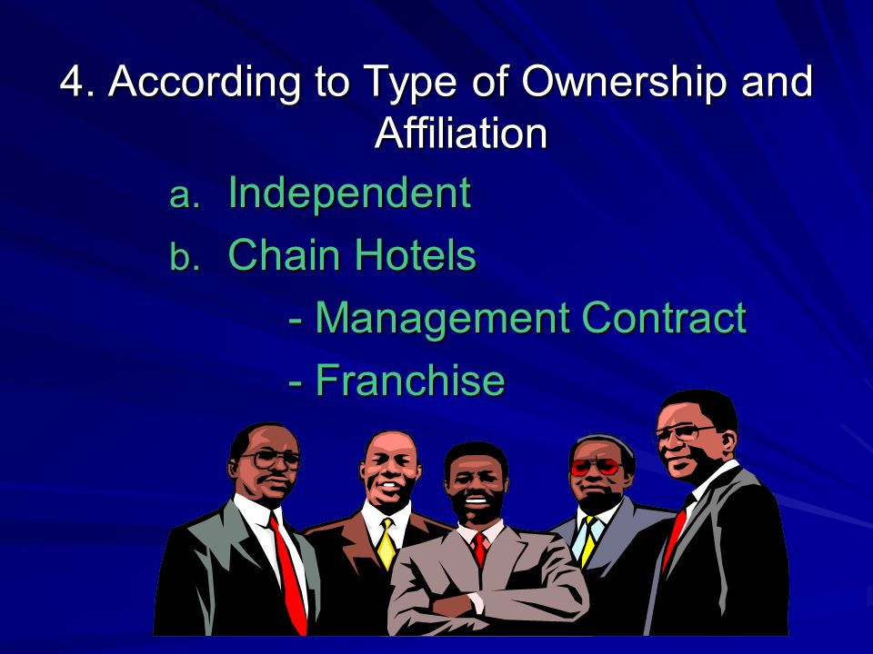 4. According to Type of Ownership and Affiliation