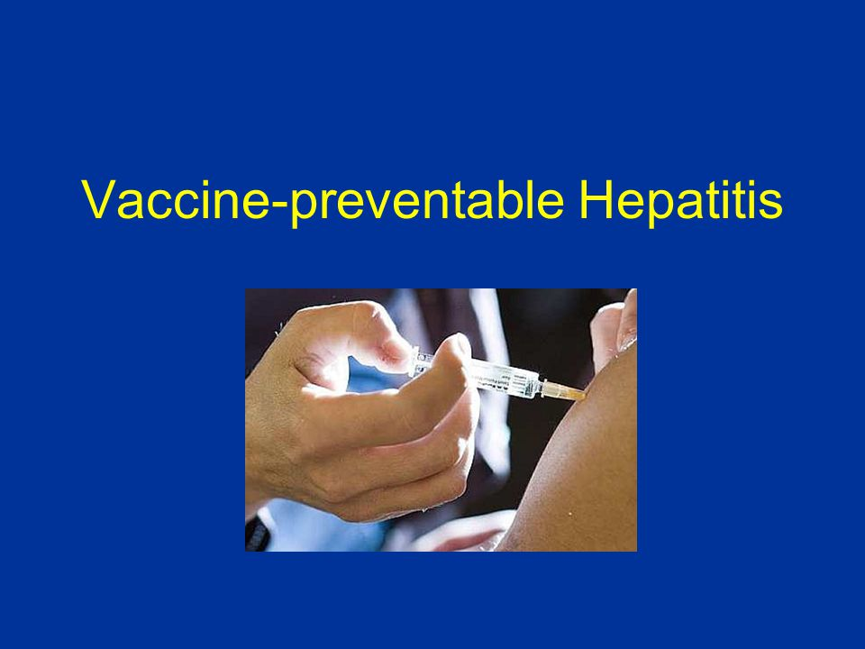 Vaccine-preventable Hepatitis