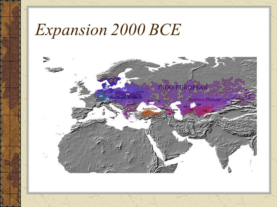 Expansion 2000 BCE