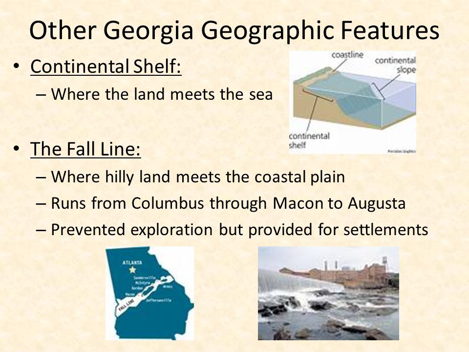 Other Georgia Geographic Features