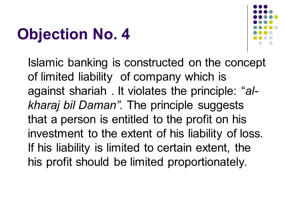 Objection No. 4
