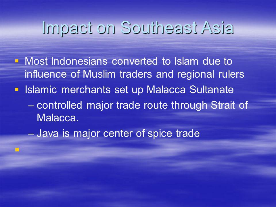 Impact on Southeast Asia