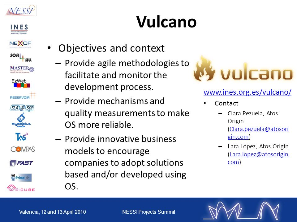 Vulcano Objectives and context