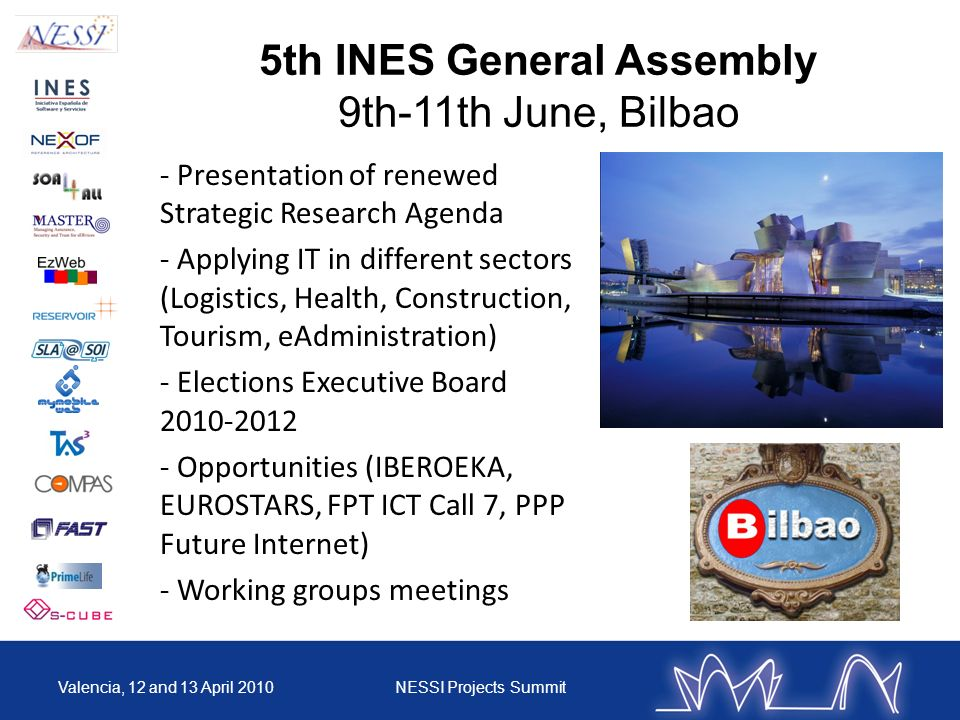 5th INES General Assembly
