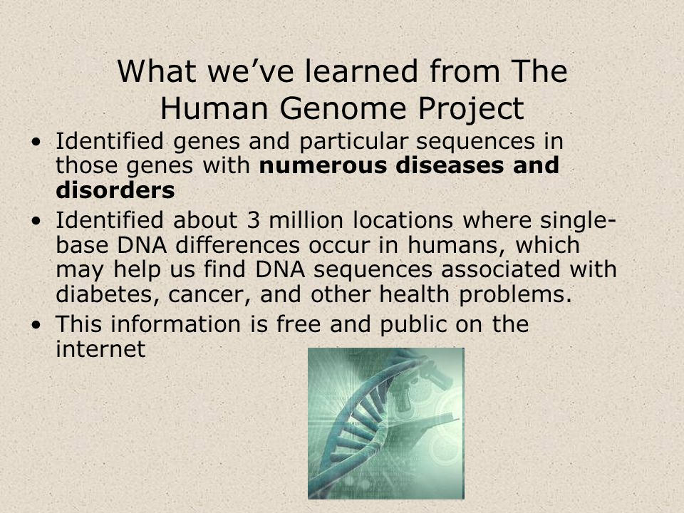 What we've learned from The Human Genome Project