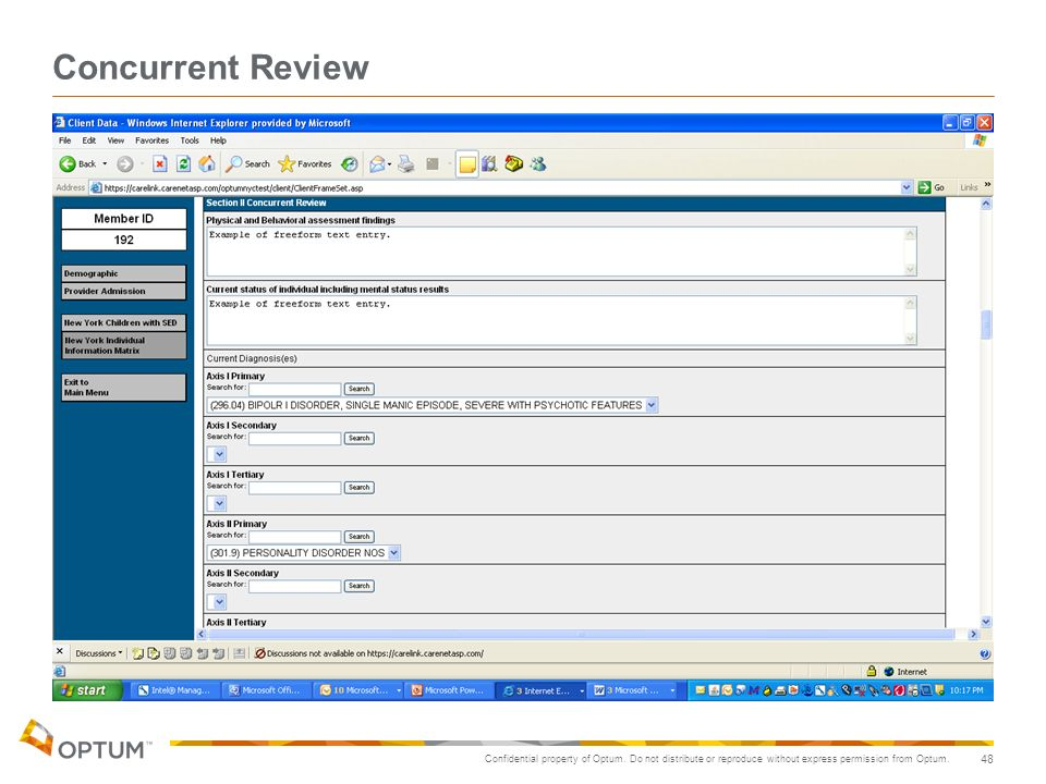 Concurrent Review