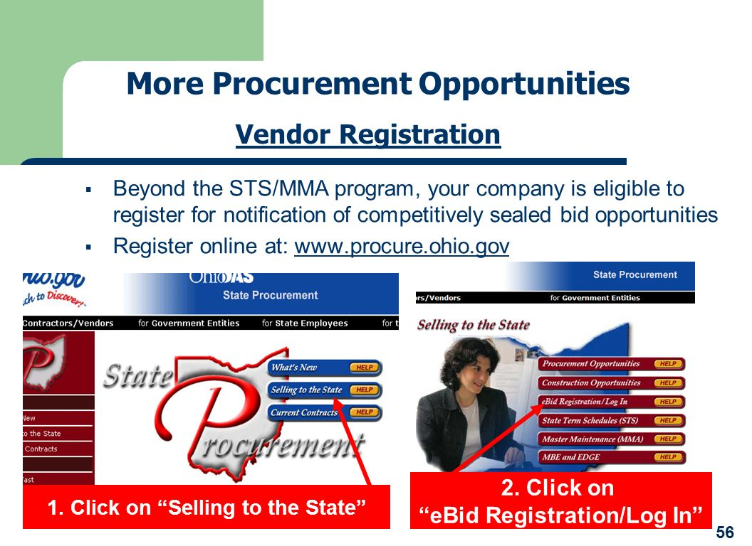 More Procurement Opportunities