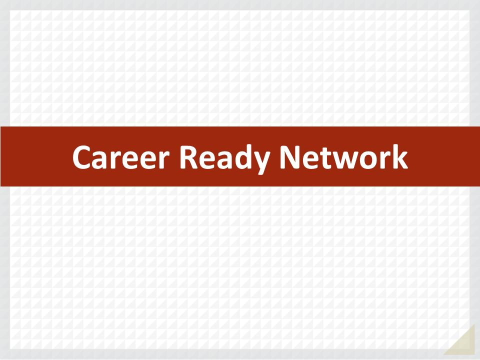 Career Ready Network