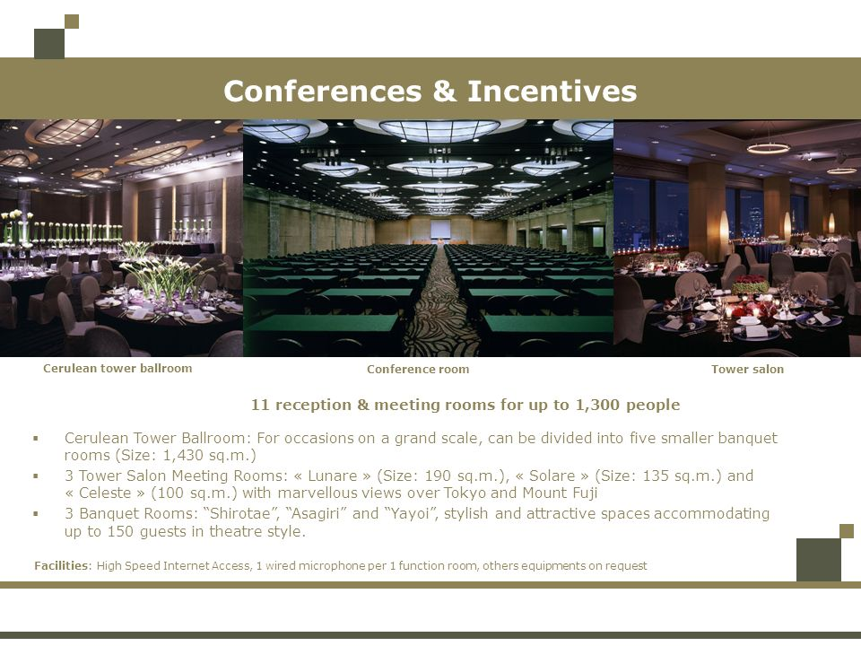 Conferences & Incentives