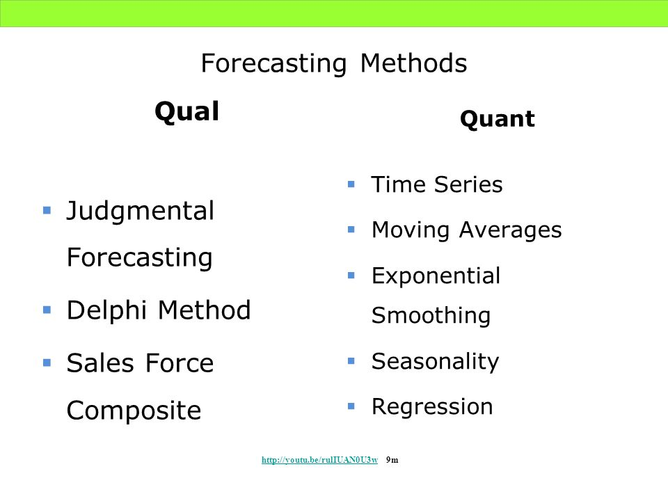 Judgmental Forecasting