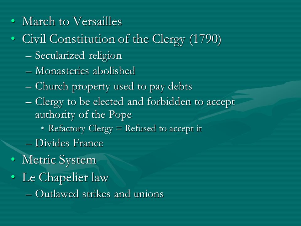 Civil Constitution of the Clergy (1790)