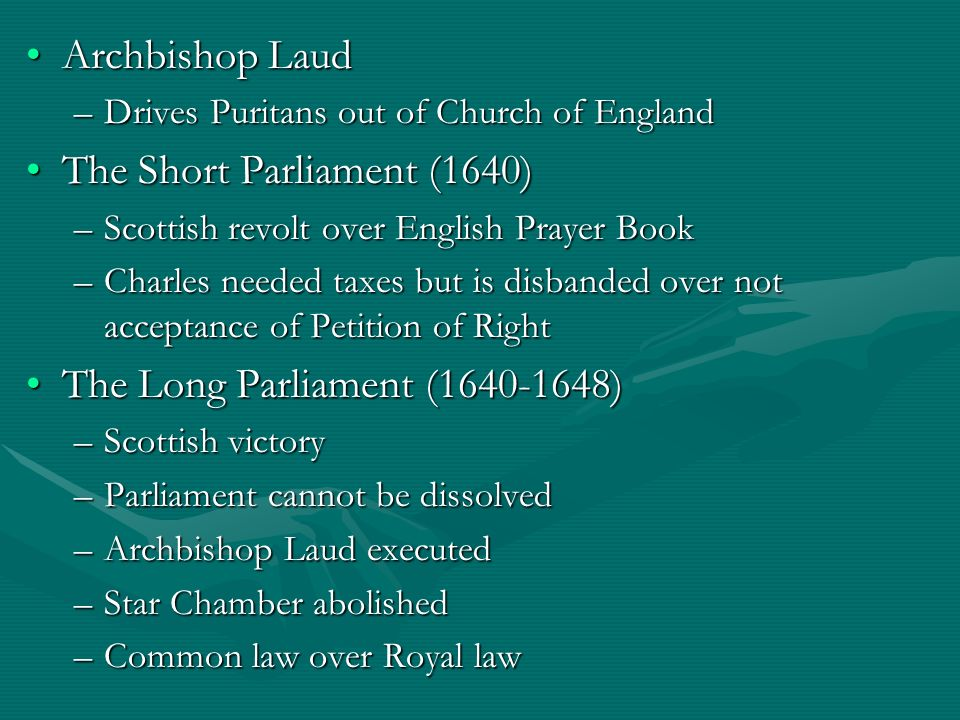 The Short Parliament (1640)