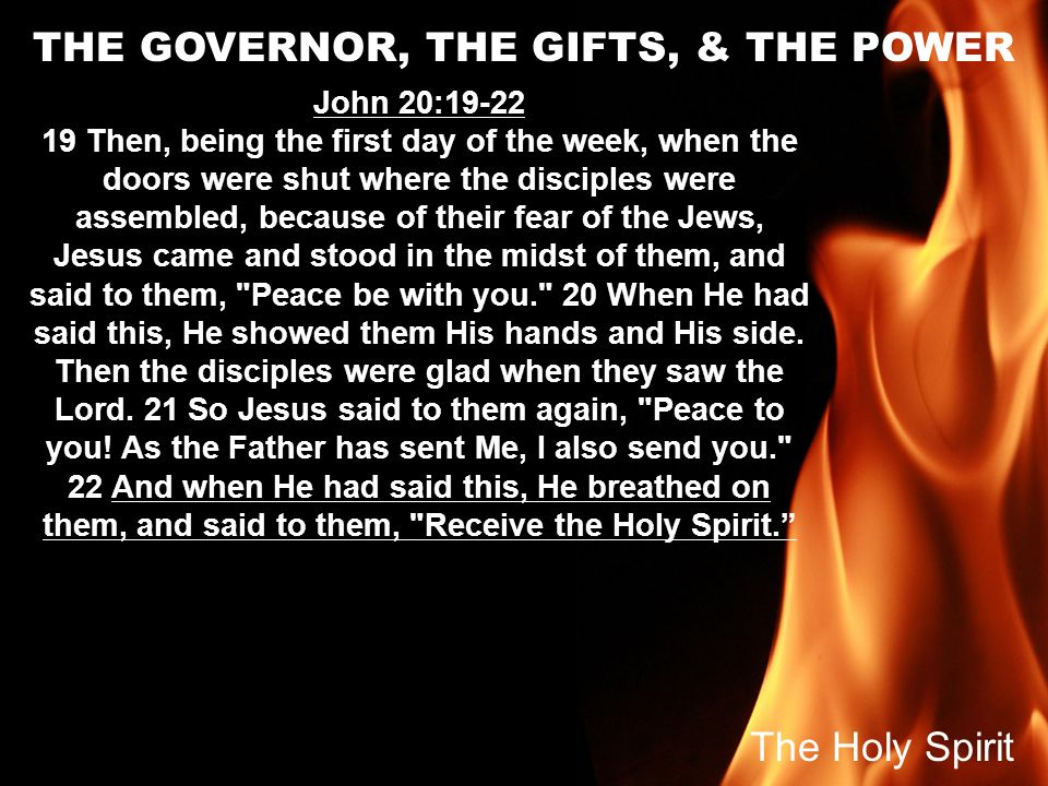 THE GOVERNOR, THE GIFTS, & THE POWER