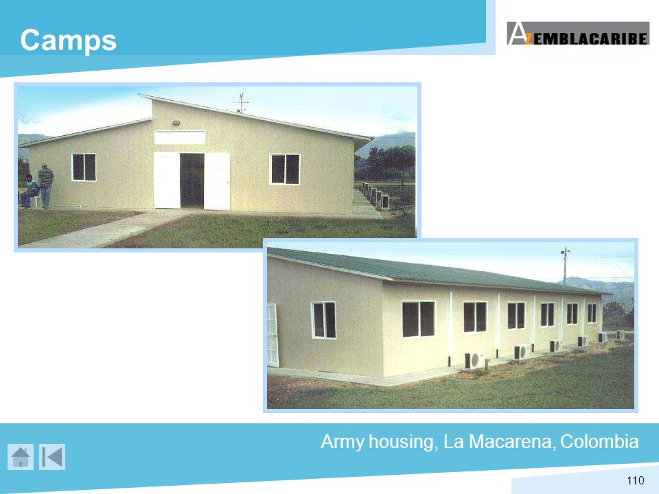 Camps Army housing, La Macarena, Colombia