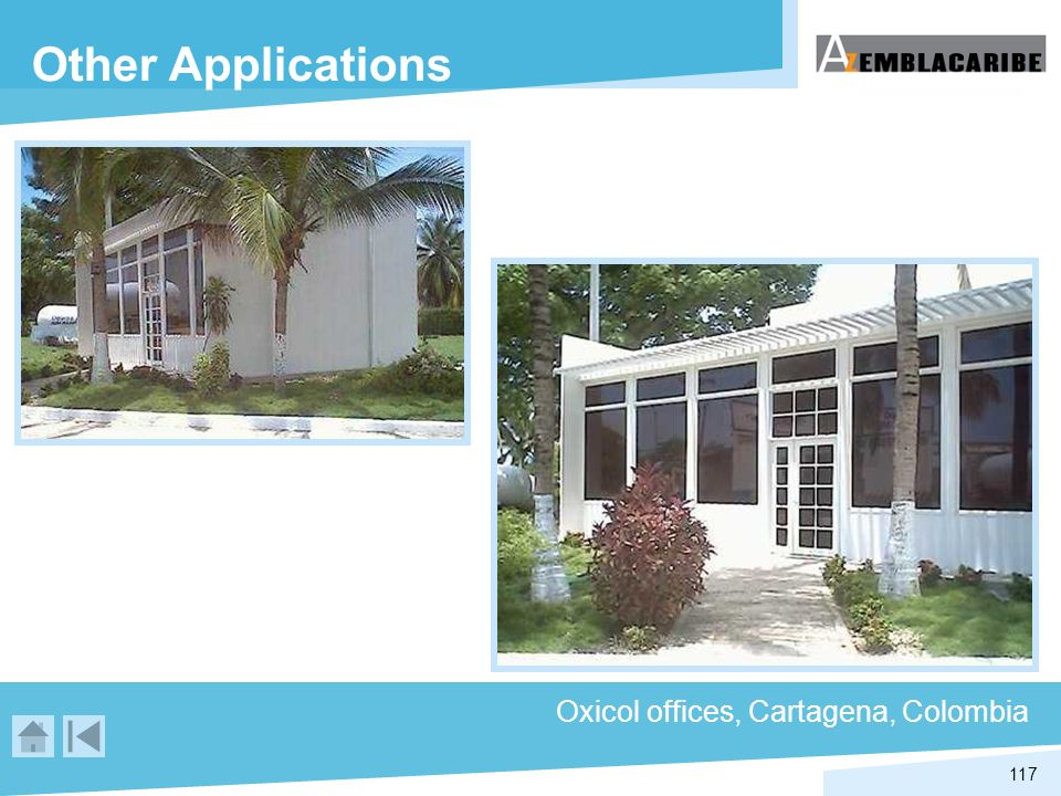 Other Applications Oxicol offices, Cartagena, Colombia