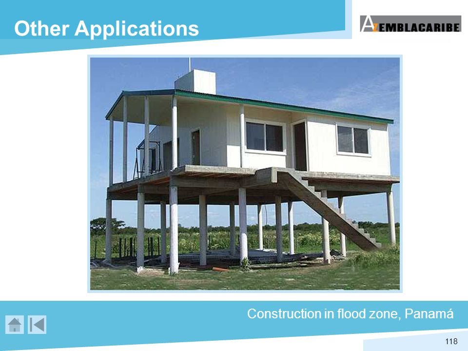 Other Applications Construction in flood zone, Panamá