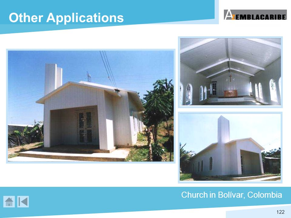 Other Applications Church in Bolívar, Colombia