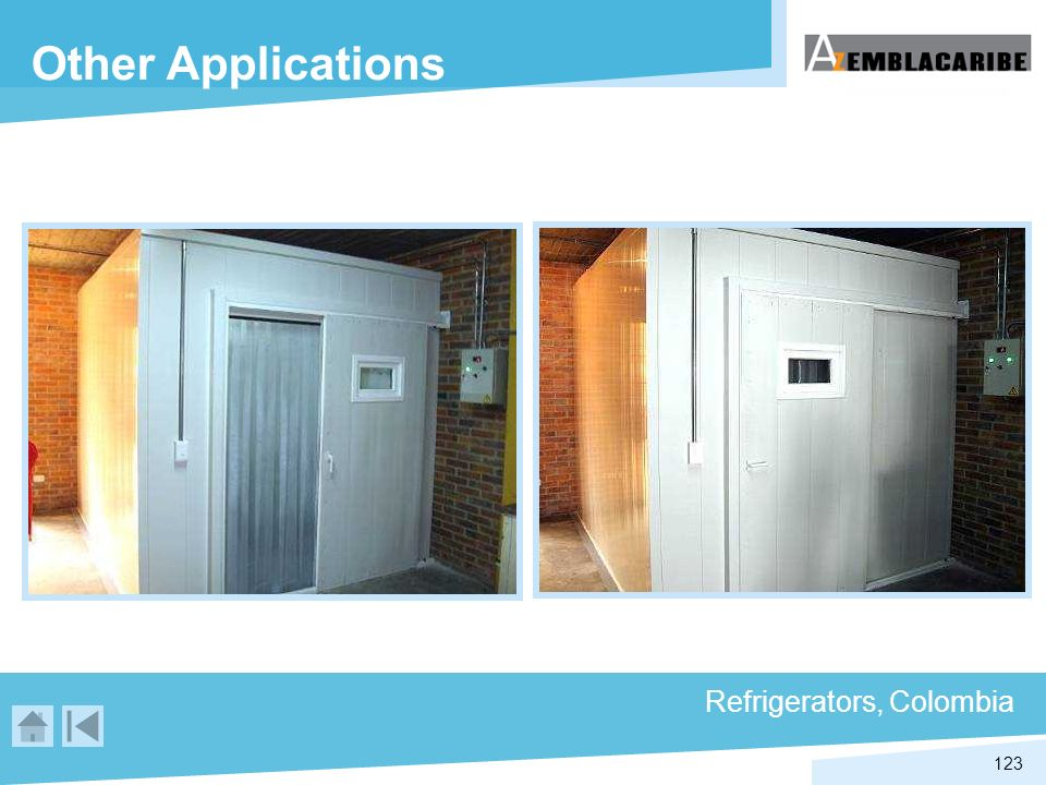 Other Applications Refrigerators, Colombia