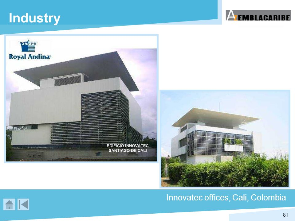 Industry Innovatec offices, Cali, Colombia