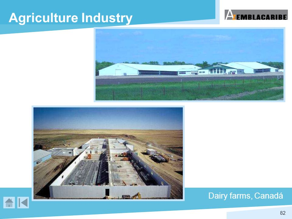 Agriculture Industry Dairy farms, Canadá