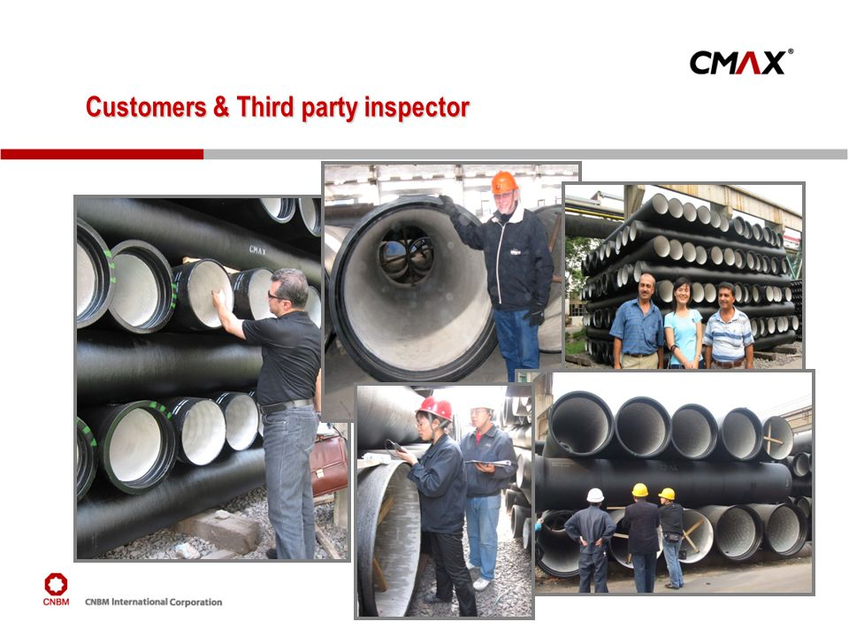 Customers & Third party inspector