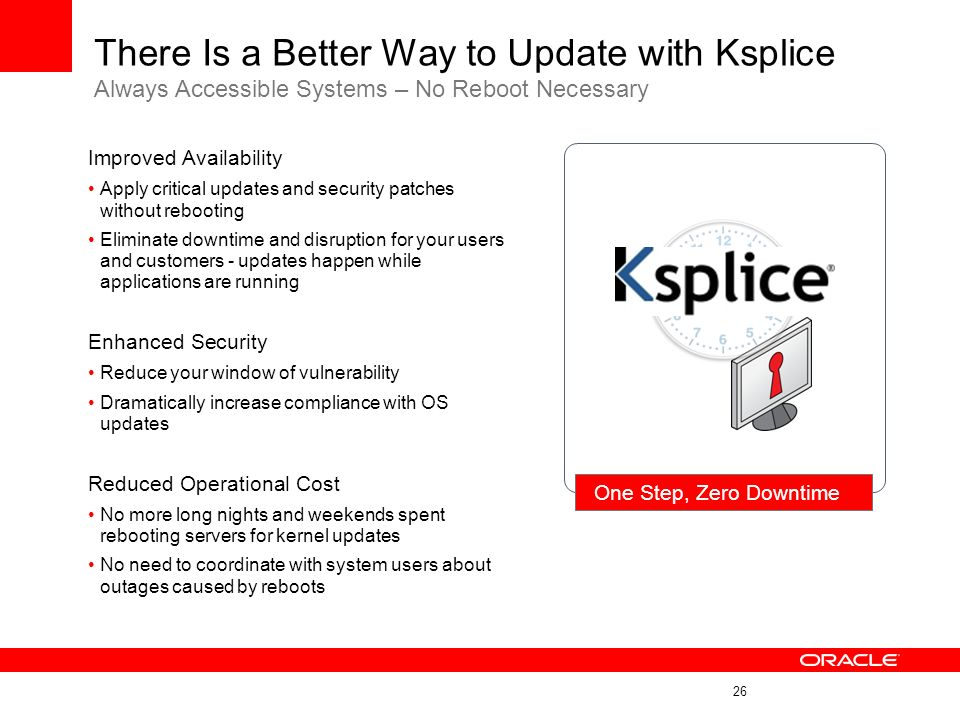 There Is a Better Way to Update with Ksplice