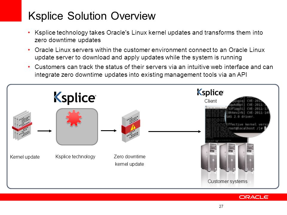 Ksplice Solution Overview