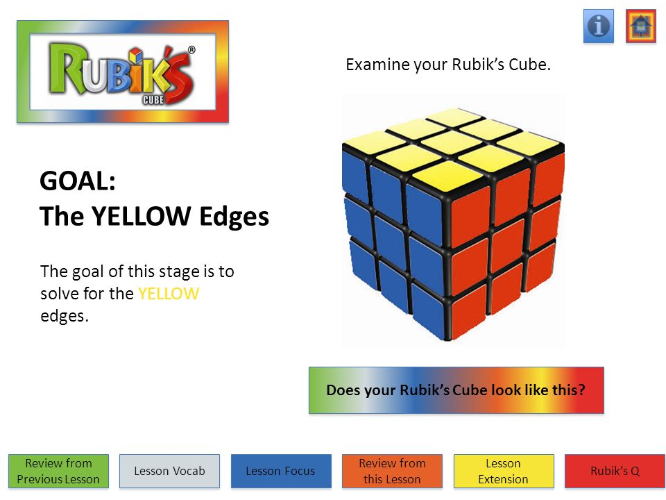 Does your Rubik's Cube look like this