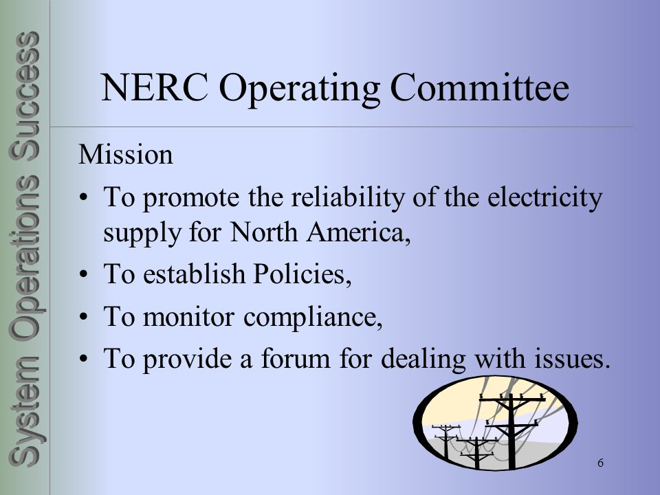 NERC Operating Committee