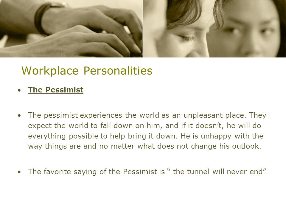 Workplace Personalities