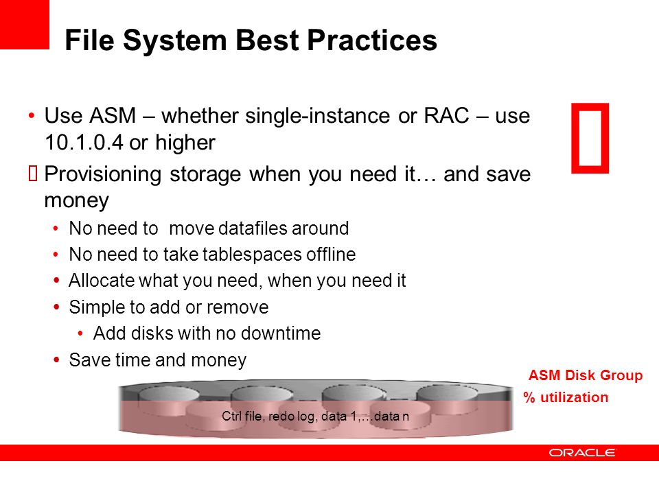 File System Best Practices