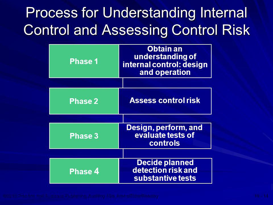 Process for Understanding Internal Control and Assessing Control Risk