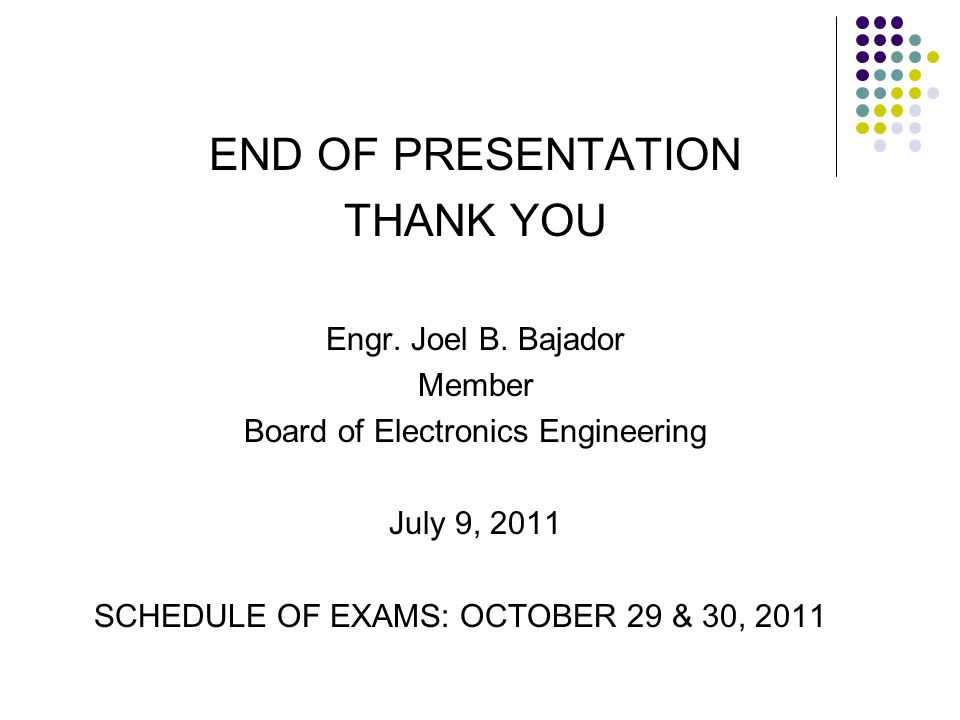 Board of Electronics Engineering