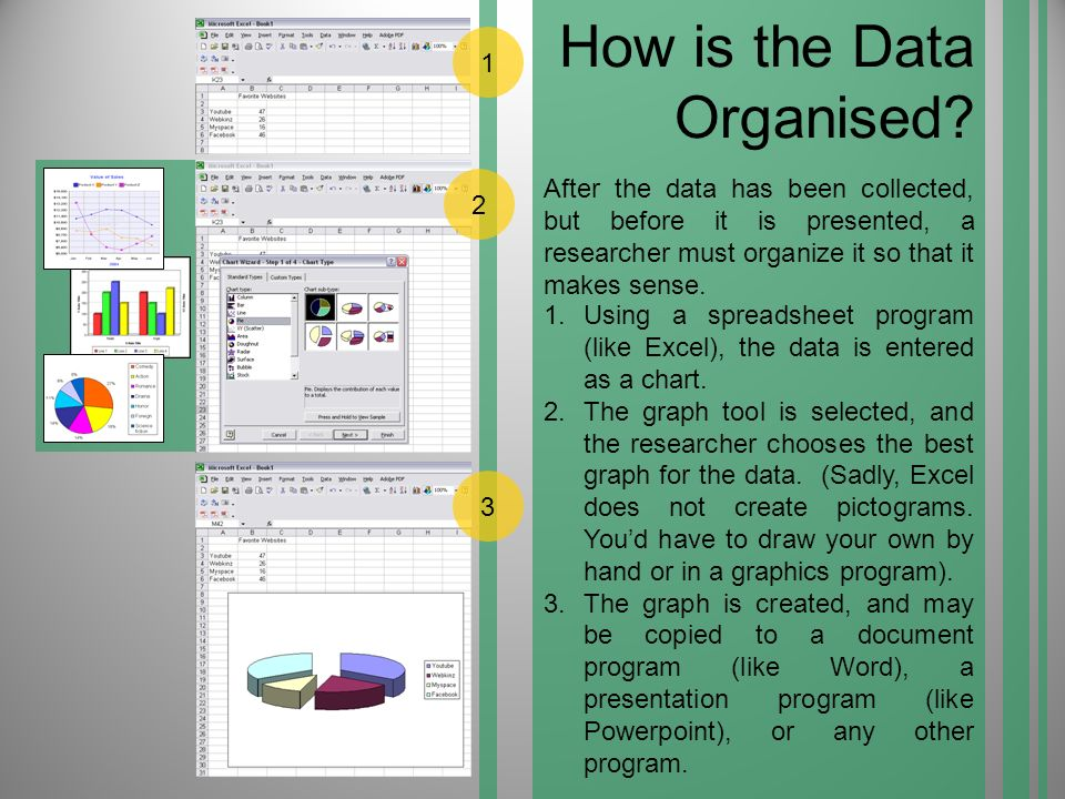 How is the Data Organised