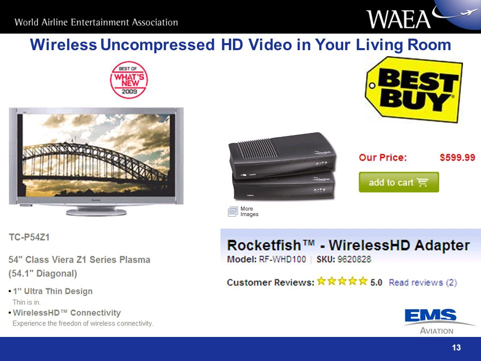 Wireless Uncompressed HD Video in Your Living Room
