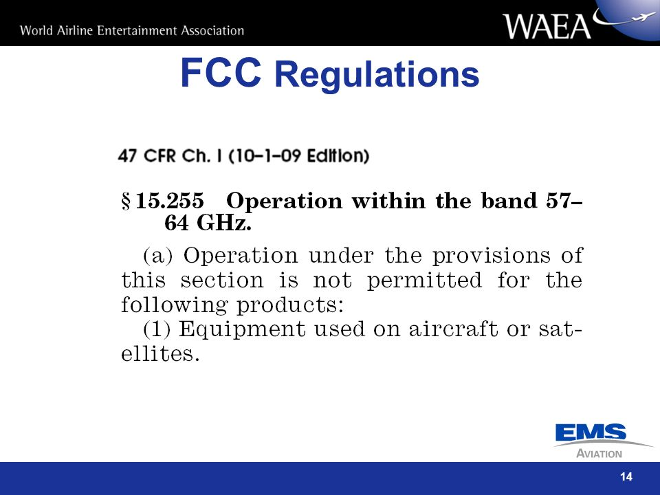 FCC Regulations