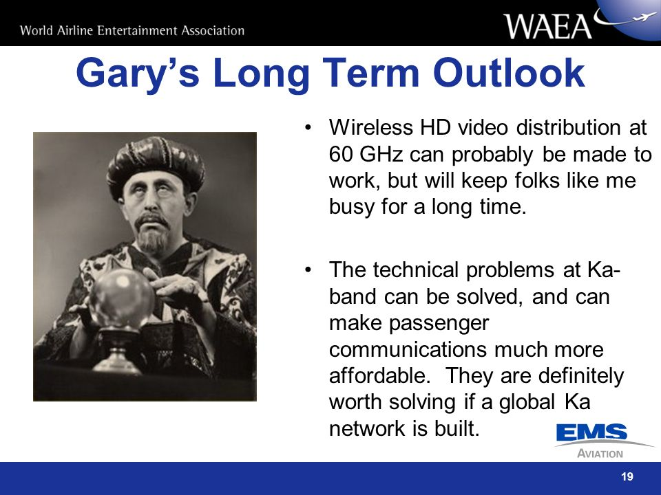 Gary's Long Term Outlook
