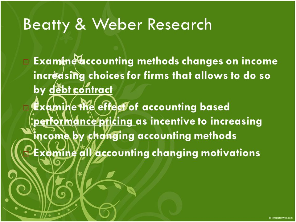 Beatty & Weber Research