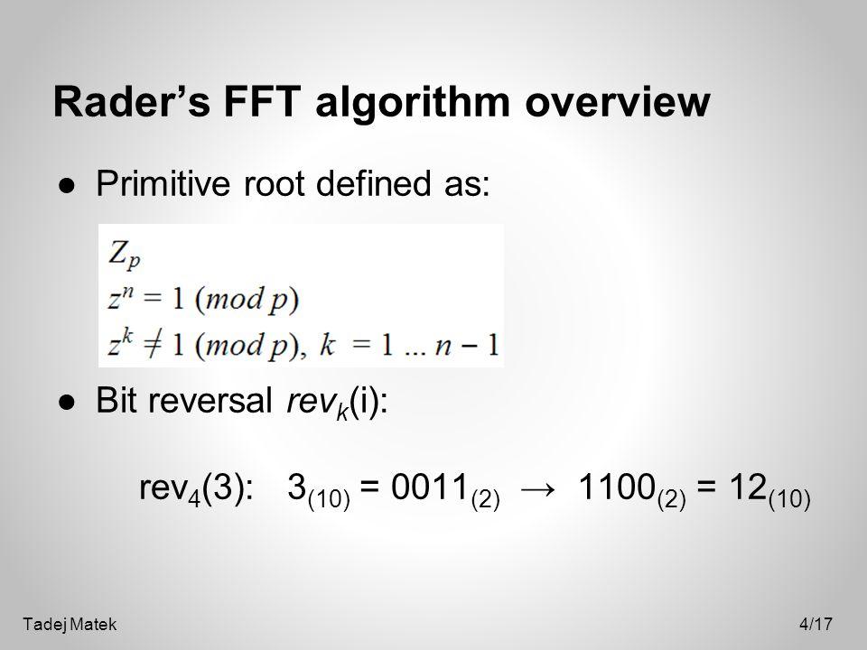 Fourier Transform Fourier transform decomposes a signal into its