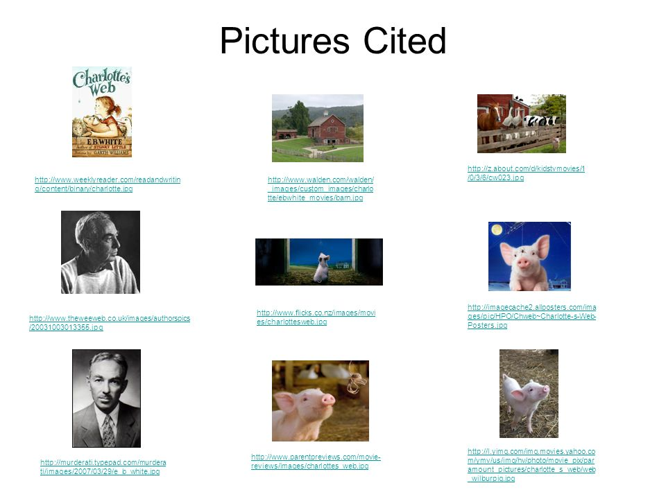 Pictures Cited http://z.about.com/d/kidstvmovies/1/0/3/6/cw023.jpg