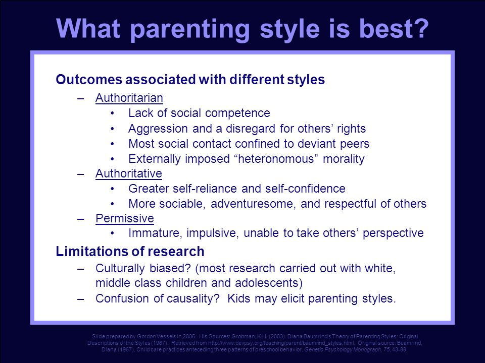 What parenting style is best