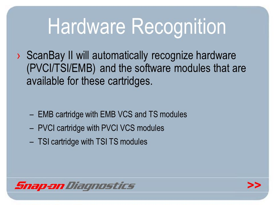 Hardware Recognition