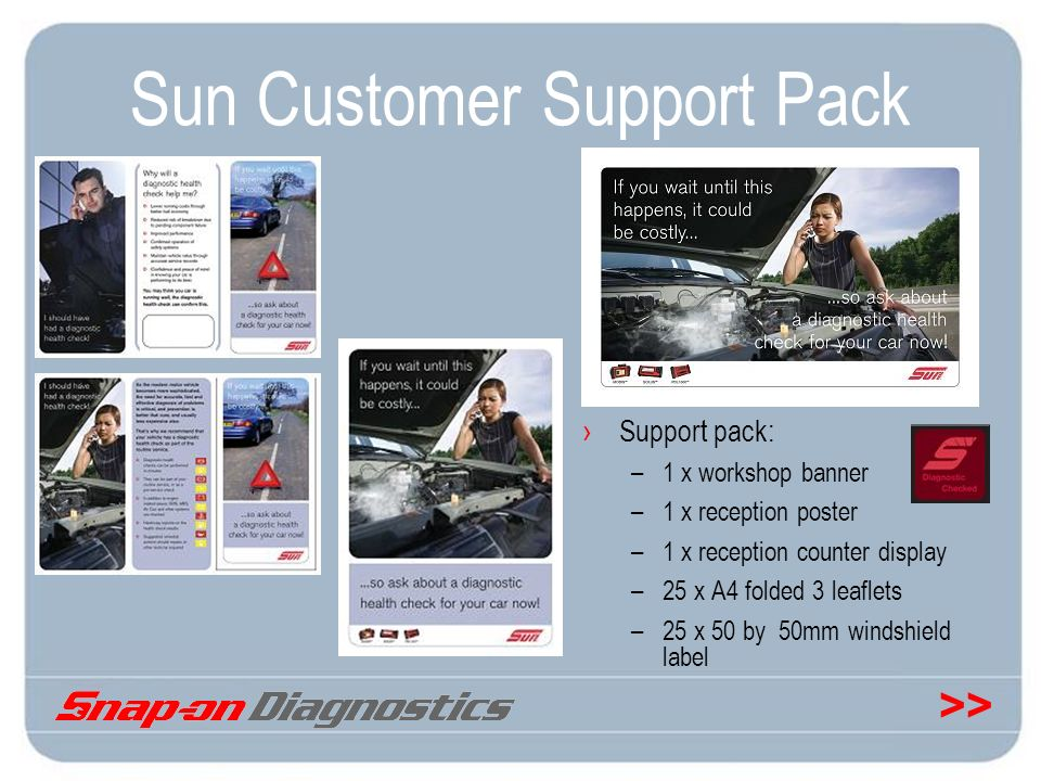 Sun Customer Support Pack