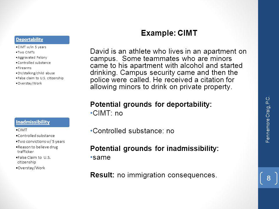 Crimes & Punishment: How do Misdemeanors Affect Immigration